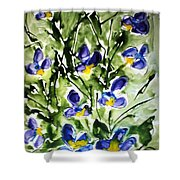 Divine Blooms-21169 Shower Curtain