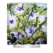 Divine Blooms-21172 Shower Curtain