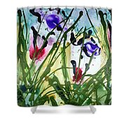 Divine Blooms-21174 Shower Curtain