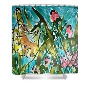 Divine Blooms-21191 Shower Curtain