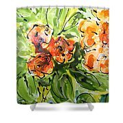 Divine Blooms-21192 Shower Curtain