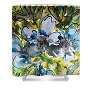 Divine Blooms-21200 Shower Curtain
