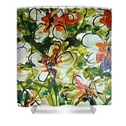 Divine Blooms-21203 Shower Curtain