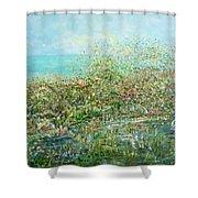 Divine Design Shower Curtain