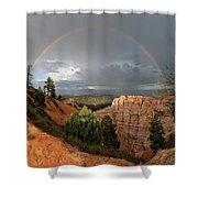 Divine Encounter Shower Curtain
