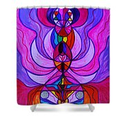 Divine Feminine Activation Shower Curtain