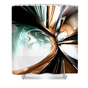 Divine Flavor Abstract Shower Curtain