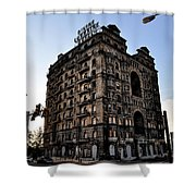 Divine Lorraine Hotel Shower Curtain by Bill Cannon