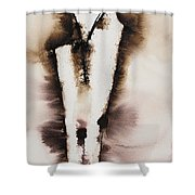 Divine Love Series No. 2042 Shower Curtain