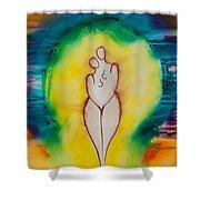 Divine Love Series No. 2079 Shower Curtain