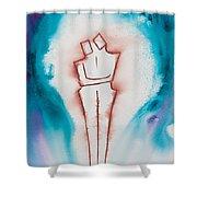 Divine Love Series No. 2083 Shower Curtain