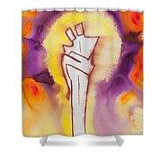 Divine Love Series No. 2084 Shower Curtain