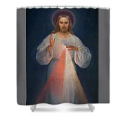 Divine Mercy Shower Curtain
