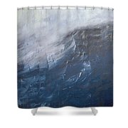Divine Storm Shower Curtain