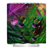 Diving The Reef Series - Hallucinations Shower Curtain