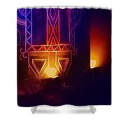 Diwali Lamps And Murals Blue City India Rajasthan Wide 2d Shower Curtain