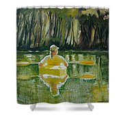 Dix River Redux Shower Curtain