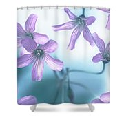 Dizziness Shower Curtain