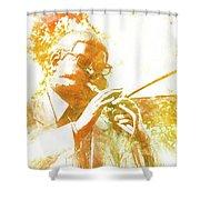 Dizzy Gillespie Cheraw South Carolina 2 Shower Curtain