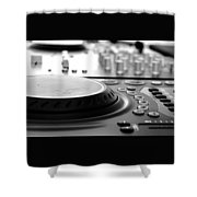 Dj Life Shower Curtain