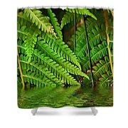 Djungle Shower Curtain