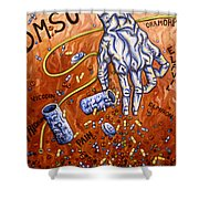 Dmso Shower Curtain
