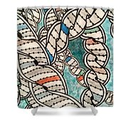 DNA Shower Curtain