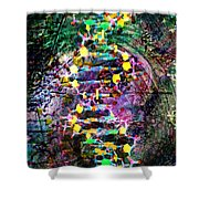 Dna Dreaming 7 Shower Curtain