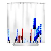 Dna Slide Shower Curtain by Methune Hively