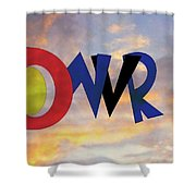 Dnvr Shower Curtain