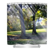 Do-00017 Point Frederic Shower Curtain