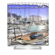 Do-00048 Cullen Bay Shower Curtain
