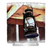 Do-00064 Lantern Shower Curtain