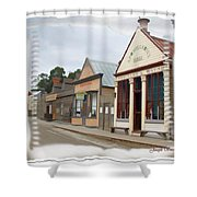 Do-00098 Town Centre - Sovereign Hill Shower Curtain