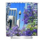 Do-00106 Spring In Sydney Shower Curtain