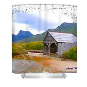Do-00107 Boat House Shower Curtain
