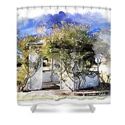 Do-00118 Gazebo Shower Curtain