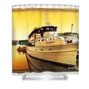 Do-00234 Lady Kendall In Sunset Shower Curtain