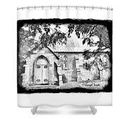 Do-00273 St John Church Shower Curtain