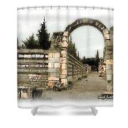 Do-00309 Arcade In Anjar Shower Curtain