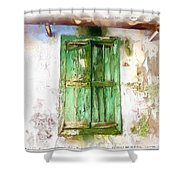 Do-00320 Soaked Window Shower Curtain