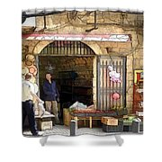 Do-00440 Old Shop Shower Curtain