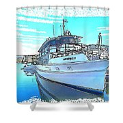 Do-0149 Lady Kendall Shower Curtain