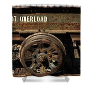 Do Not Overload Shower Curtain
