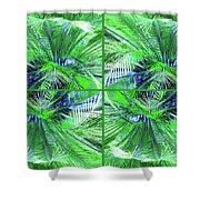 Do You Like Green? Shower Curtain