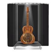 Dobro In A Box Shower Curtain