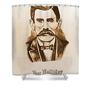 Doc Holiday Shower Curtain
