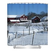 Doc Witts Farm Shower Curtain