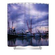 Dock Of Bay Shower Curtain
