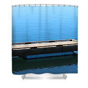 Dock On The Bay Shower Curtain